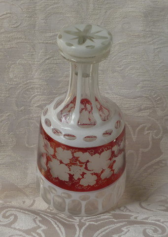 bottiglia boremia vino, spilla sphinx perle e turchesi 004