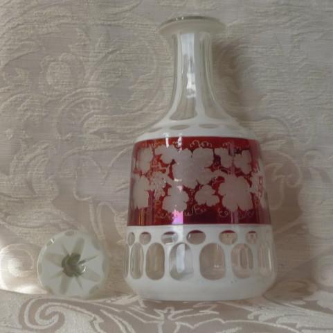 bottiglia boremia vino, spilla sphinx perle e turchesi 005