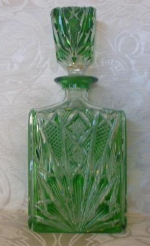 bottiglia cristallo boemia 001
