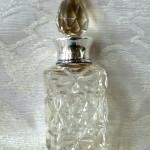 bottoglia profumo cristallo argento Bh 1921 001