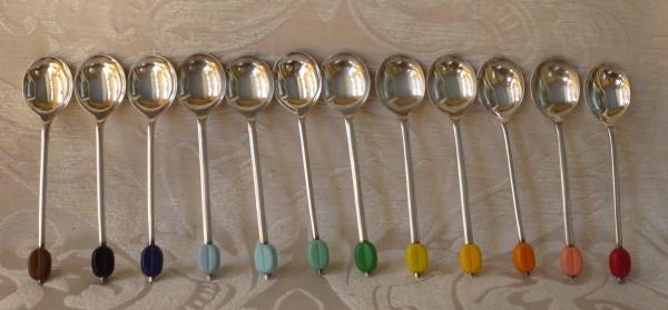 cucchiaini caffè colorati coltelli colorati 002
