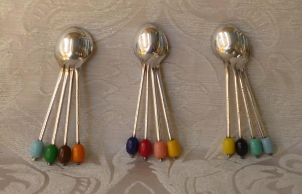 cucchiaini caffè colorati coltelli colorati 004