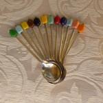 cucchiaini caffè colorati coltelli colorati 007