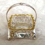 cestellino con vetro giallo sheffield 001