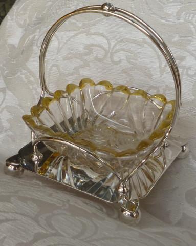 cestellino con vetro giallo sheffield 004