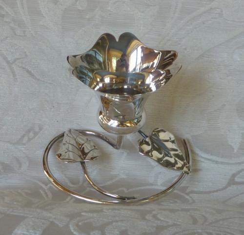 vasetto con foglie art nouveau  3