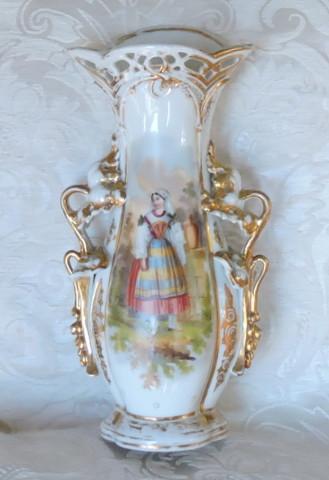 vaso porcellana con dama 001