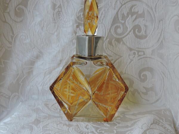 bottiglia cristallo deco 012