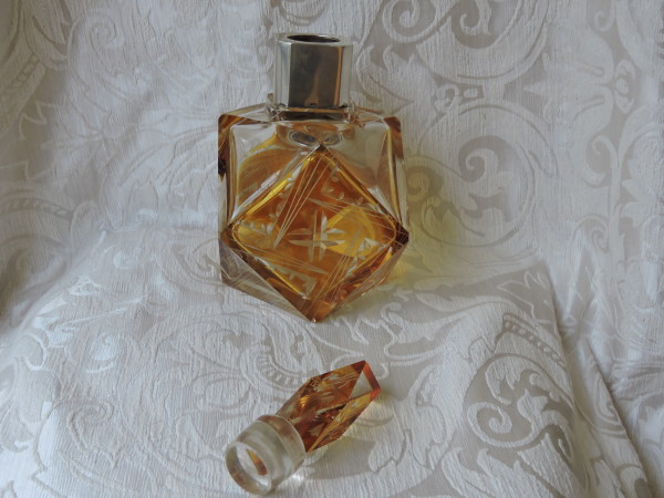 bottiglia cristallo deco 016